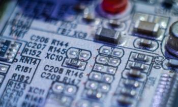 SMT technológiával előállított panel