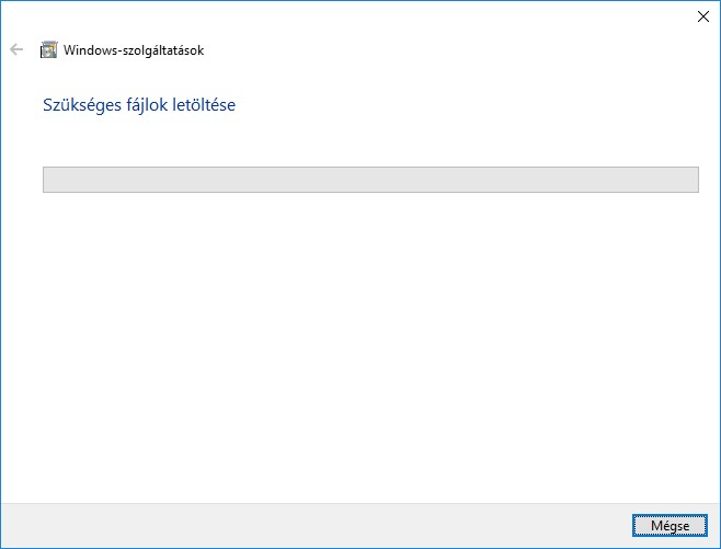 directplay telepítése windows 10 windows-szolgáltatások szükséges fájlok letöltése