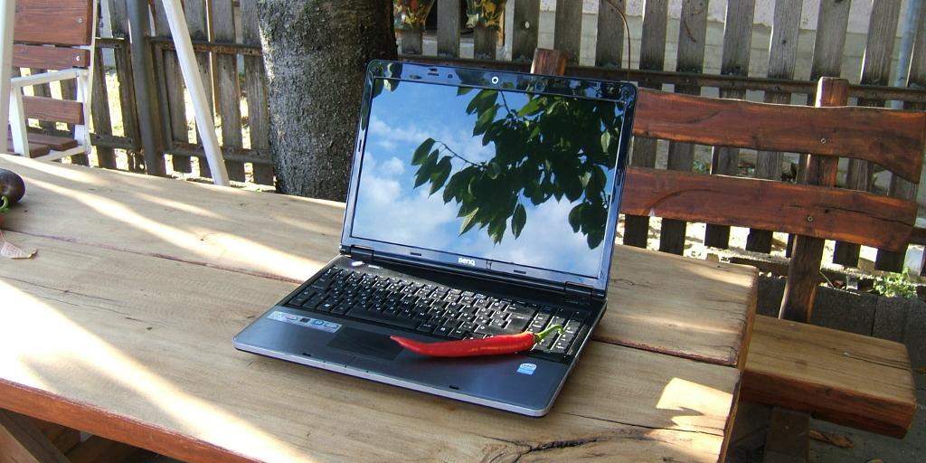 benq paprika windows xp laptop