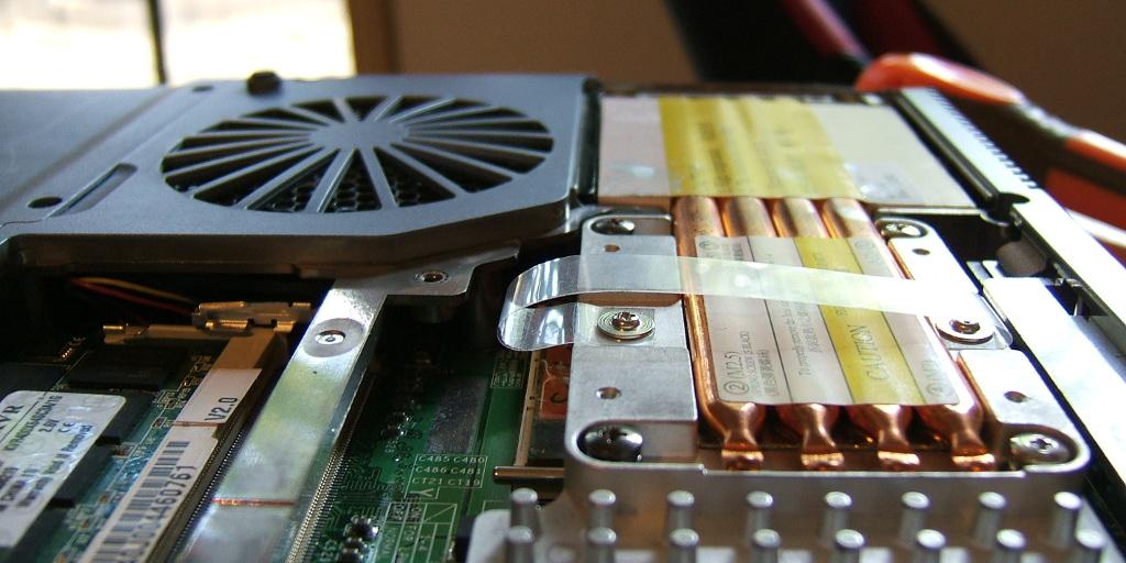 laptop tisztítás ventillátor
