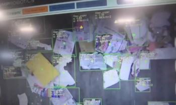 AMP Robotics hulladékválogató